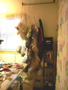 Hanging Scrap Storage
