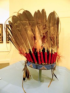 Sioux Eagle Feather Bonnet web