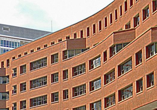 Boston Brick. film grain