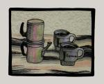 """Espresso  8"""" x 10""""  In a Private Collection"""