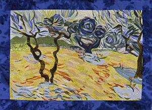 Study 1. Van Gogh Olive Trees