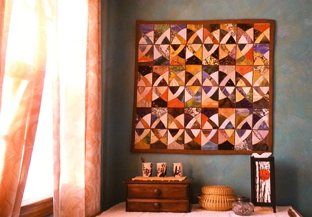 My Bedroom With Quilt