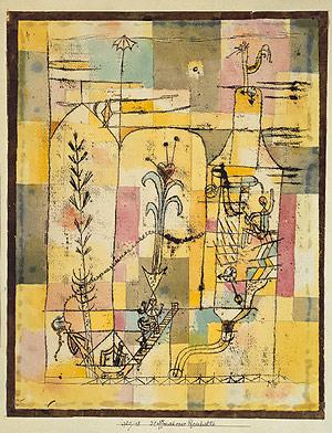 Tale_à_la_Hoffmann_by_Paul_Klee_1921