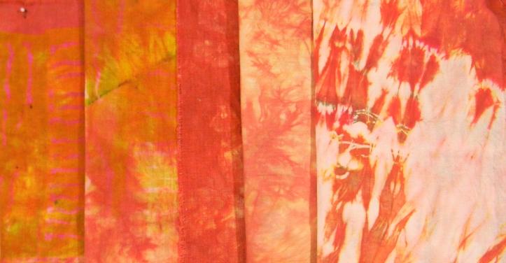 Orange Immersion Dyed