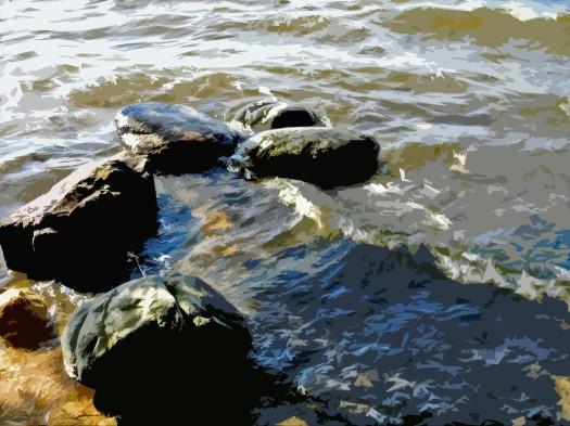 Rocks In Lake2.