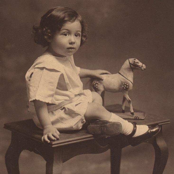 Paternal Great Uncle Eduard Caron, 1909