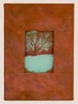 """Saint Mary's Tree, 14"""" x 12"""", In a Private Collection"""
