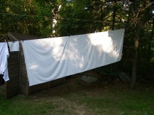 Diane said she has clothesline envy!
