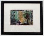"""Harold Parker Pond, 8 x 10"""" matted and framed, $145."""