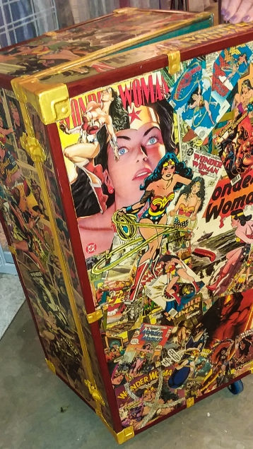 Wonder Woman Pop Art