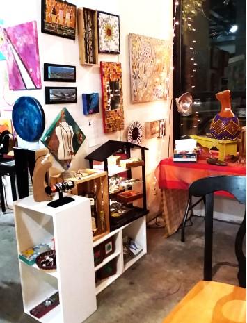 Catalina Moreno's Mosaics & Paintings
