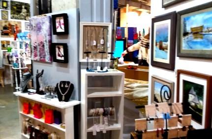 Joe Saro's Paintings & Debbie C's Turning Left from Center