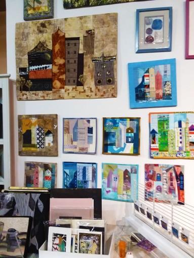 JanisDoucette's Textile Art.Left Center Wall