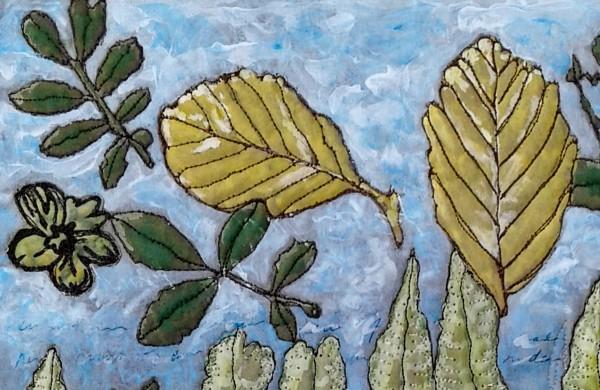 Detail of Sky Leaves